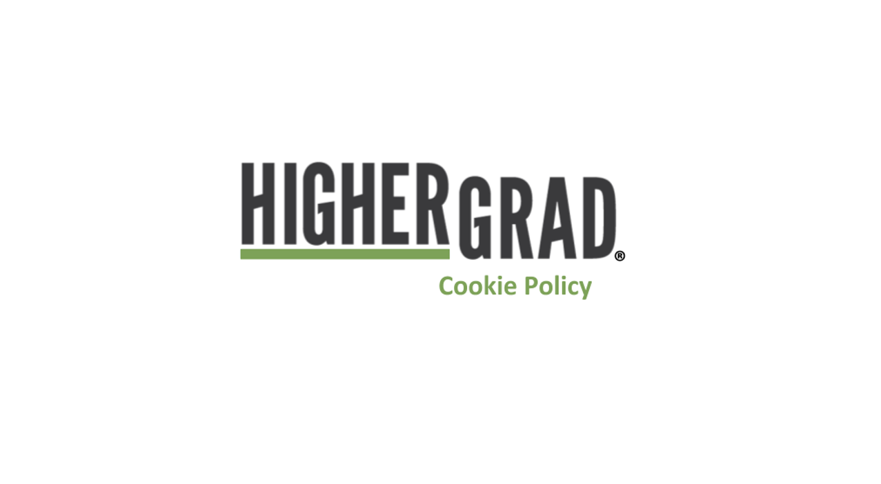 HigherGrad Cookie Policy